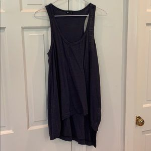Wilt Navy Tank Top High/Low Size Small NWOT